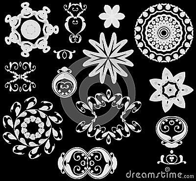 Free Web Icons White On Black Royalty Free Stock Photos - 2036698