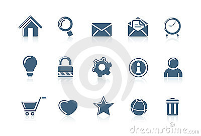 Web and internet icons 1