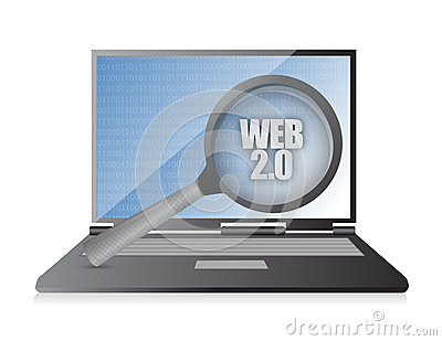 Web laptop magnify