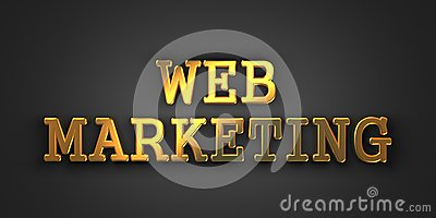 Web Marketing. Business Concept.