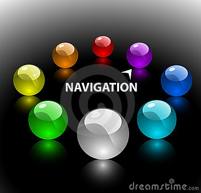 Web navigation template 2 (on floor)
