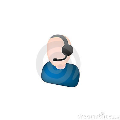Web online support icon vector