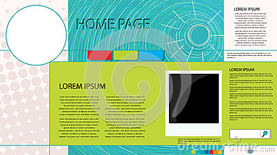 Web page graphic