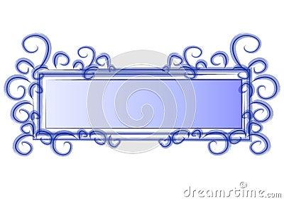 Web Page Logo Blue Swirls