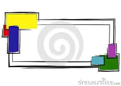 Web Page Logo Colorful Blocks