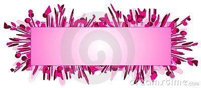 Web Page Logo Pink Fashion