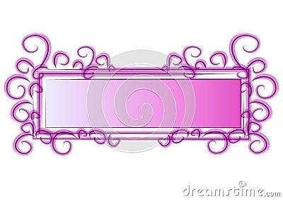 Web Page Logo Pink Swirls