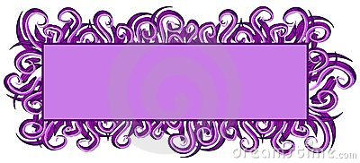 Web Page Logo Purple Swirls