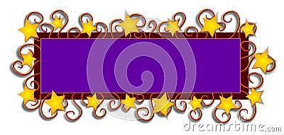 Web Page Logo Stars Swirls