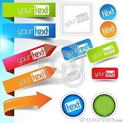 Web page Sticker Designs