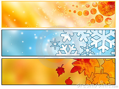 Web Seasonal banners