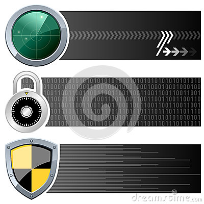 Web Security Horizontal Banners