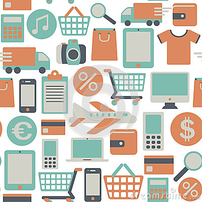 Web shopping pattern