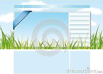 Web site design template 2