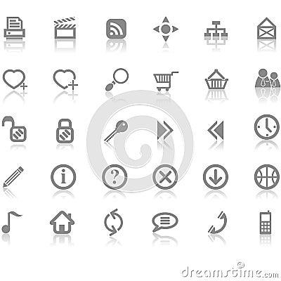 Free Web Site Internet Icon Set Stock Photos - 3514433