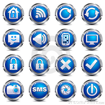 Web Site & Internet Icons - SET TWO
