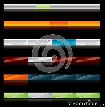 Web site menu buttons