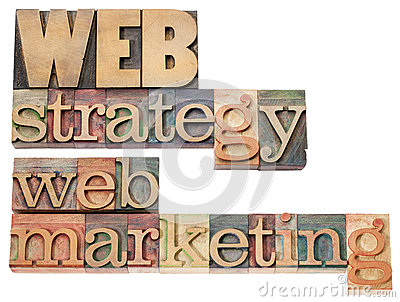 Web strategy and marketing