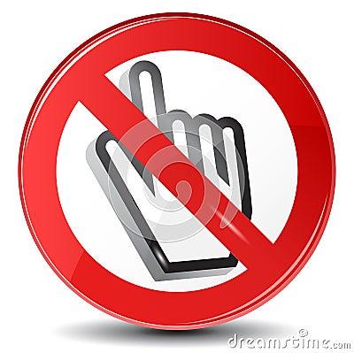 Web surfing forbidden