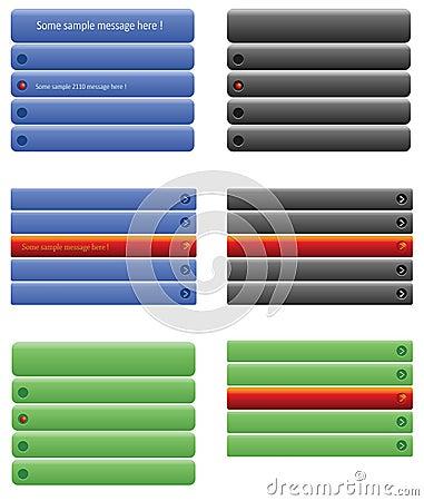 Web tabs