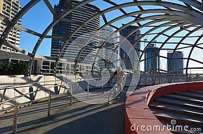 Webb Bridge - Melbourne Editorial Photography