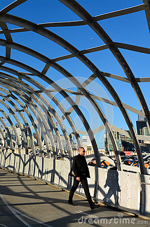 Webb Bridge - Melbourne Editorial Photography
