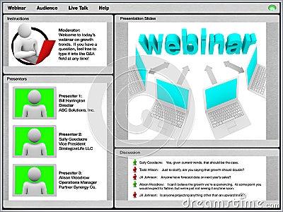 Webinar - Sample Screen Shot