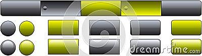 Website button template