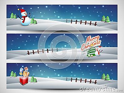 Website header or banner set for Merry Christmas celebration.