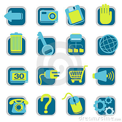 Free Website Icons Stock Image - 2711021