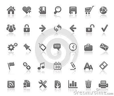 Website & Internet Icons // Basics Series