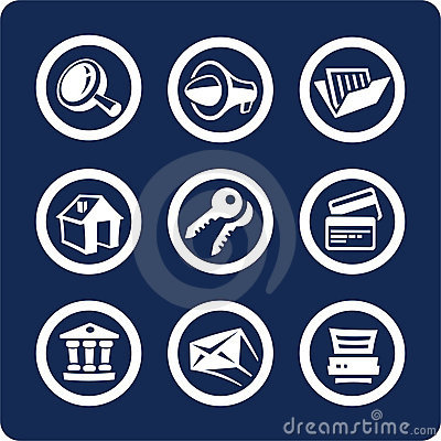Website And Internet Icons (set 2, Part 1) Royalty Free Stock Images - Image: 368749