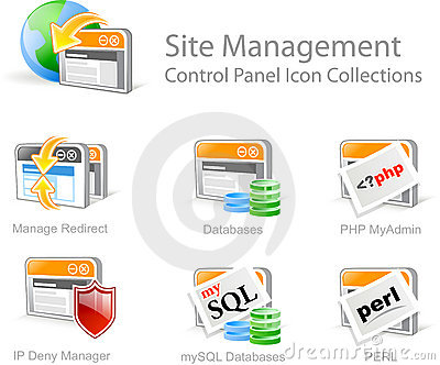 Website Management icons