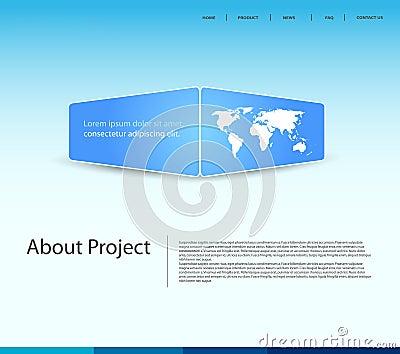 Website modern template