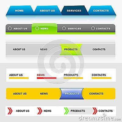 Website navigation templates 5