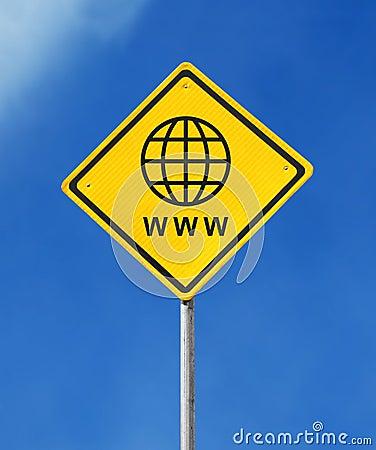 Website sign