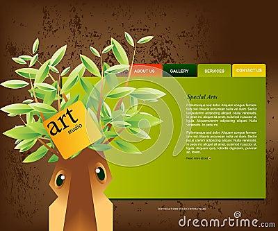 Website Template 01
