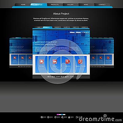 Website template for designers