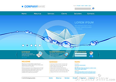 Website template: Innovations