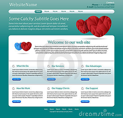 Website template for medicine