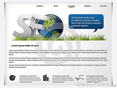 Website template SEO