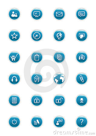 Website Vector Buttons