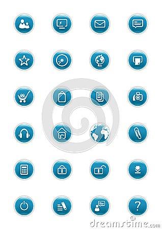 Website Vector Buttons