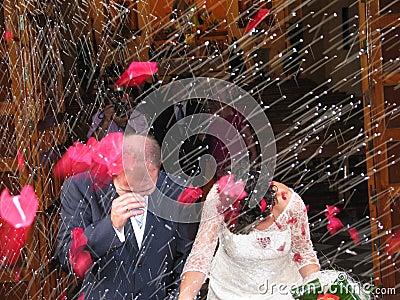 Wedding Editorial Stock Photo