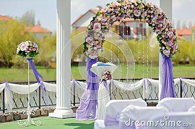 wedding arch stock images image 25229044. Black Bedroom Furniture Sets. Home Design Ideas