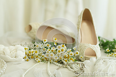 Wedding background, bridal accessory