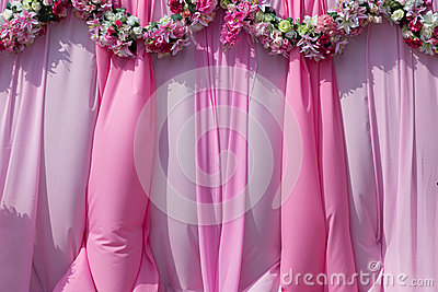 Wedding background for photo