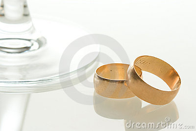 Wedding bands toast