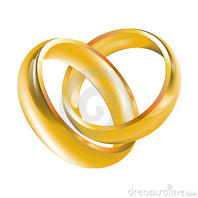 Free Wedding Bands Wedding Rings Royalty Free Stock Image - 20237336