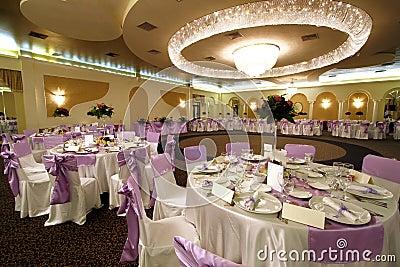 Wedding or banquet ballroom
